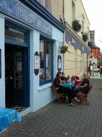 Oceanblue Seafood Bar: vista del locale