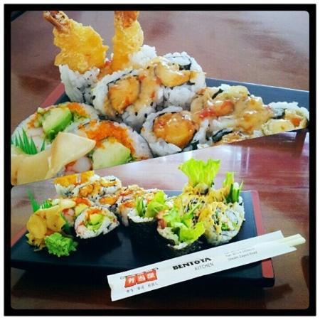 Bento-Ya: sushi course