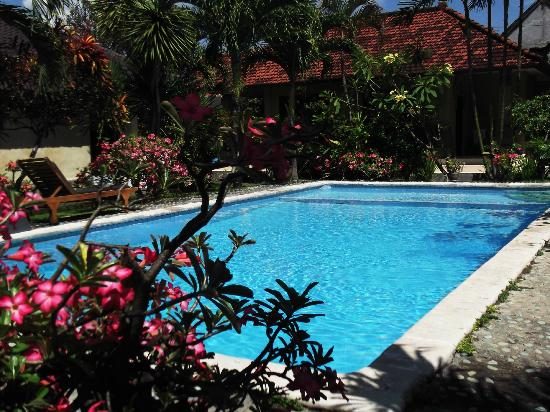 Legian Beach Bungalow: piscine