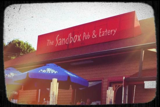 Sand Box Pub and Eatery: outside of the pub