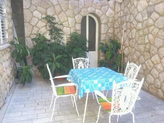 Villa Jozephina: Apartment A1 - terrace