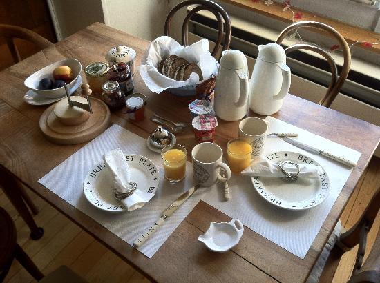 Maison D'Hotes La Vigne : Frühstück