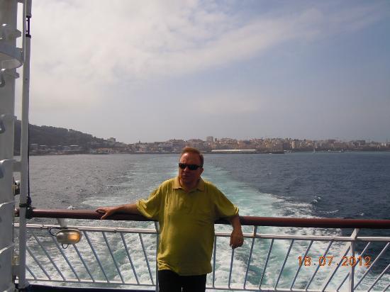 Parador de Ceuta : Detalle del viaje