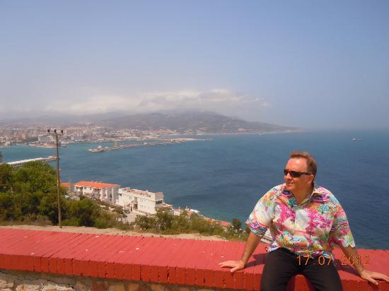 Parador de Ceuta : Ceuta al fondo