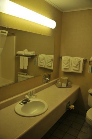 Comfort Inn I-90: salle de bain