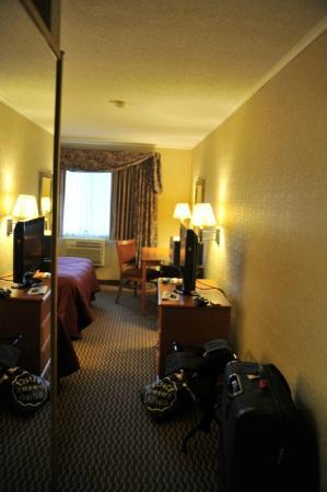 Comfort Inn I-90: vue de la chambre