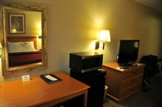 Quality Inn & Suites: chambre spacieuse