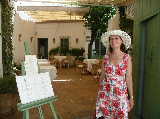 Patio of La Yedra restaurant, Carmona
