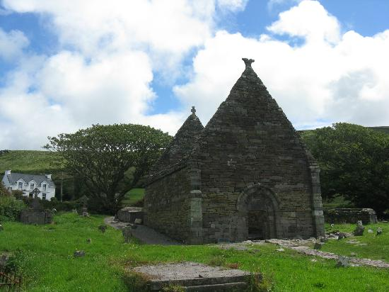 Dingle Peninsula: La chiesa di Kilmakedar