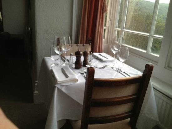 Woody Bay Hotel: Dining room