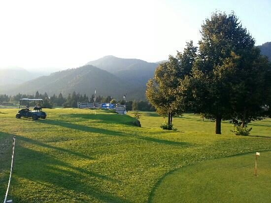 Golf Country Club Tarvisio: vista dal ristorantino