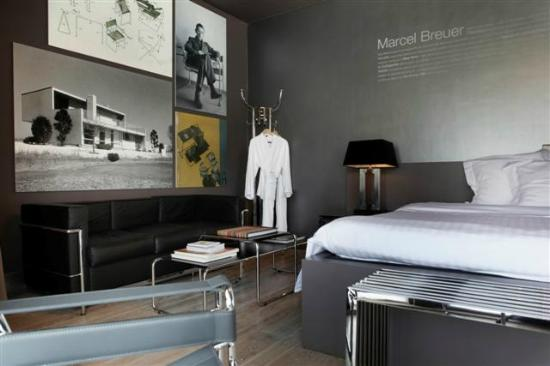 Hotel Recour: Superior luxury room (Design) - Breuer