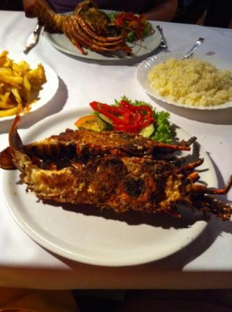 RestauranteBarracuda: verse kreeft
