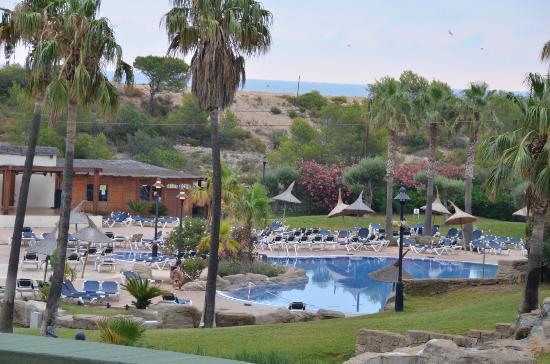 RV Hotel Ametlla Mar : vu de la chambre