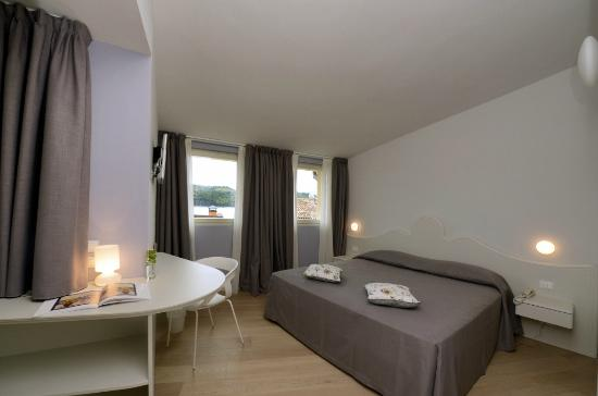 Aromi Piccolo Hotel: Room with view on Lage Garda