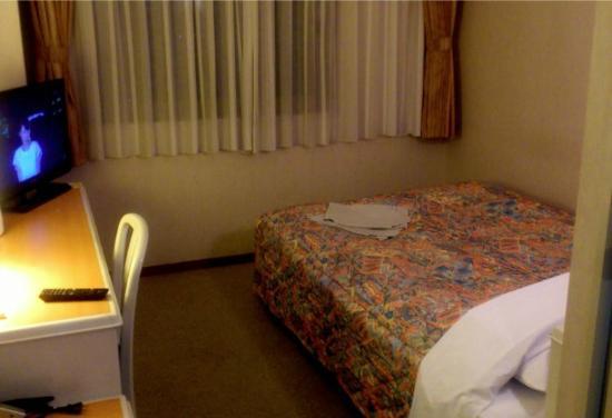 Sabae City Hotel: ダブルはゆったりしてていい。