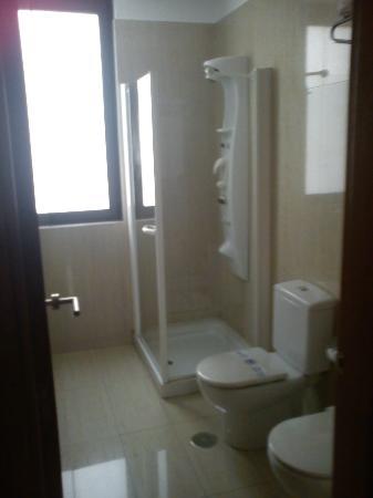 Hotel Mieres del Camino: Un baño bastante nuevo