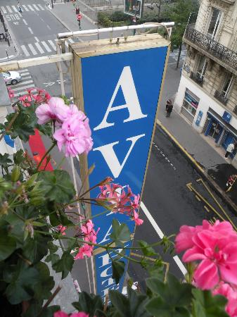 Hôtel Avia Saphir Montparnasse : panorama dalla camera