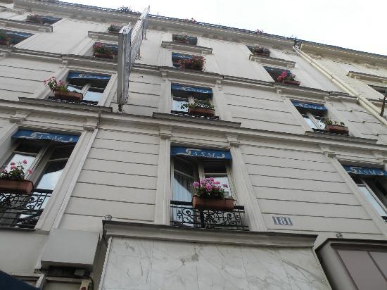 Hôtel Avia Saphir Montparnasse : facciata dell'hotel