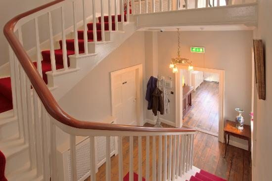 Corrib House Guest Accommodation: Main Stairs