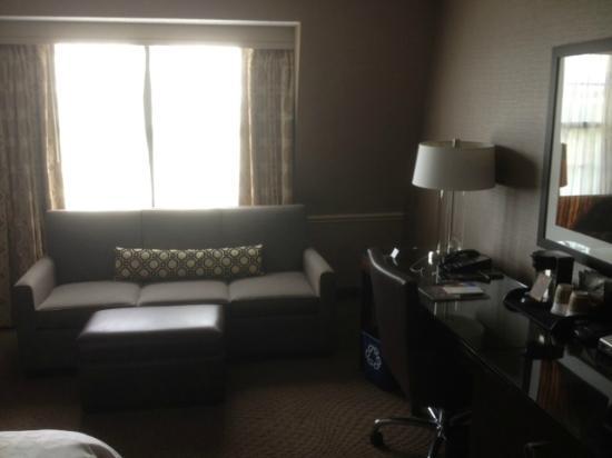 Sheraton Parsippany Hotel: sitting area