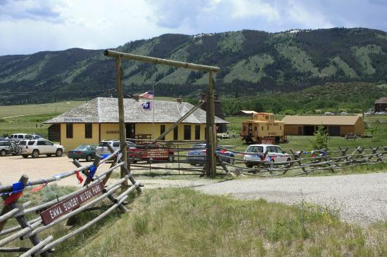 Centennial, WY: Entrance to the Nici Self Historical Museum