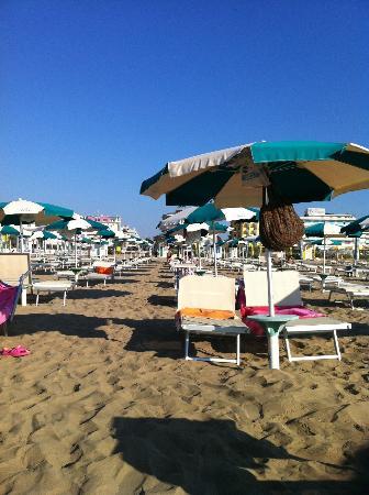 Hotel Bristol: spiaggia privata