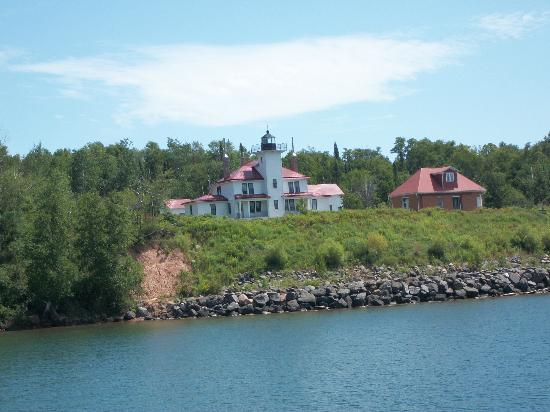 Apostle Islands National Lakeshore: Bayfield from Cruise Ship to see the Islands