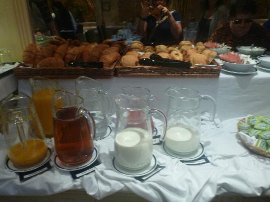 Grange Rochester Hotel: parte della colazione
