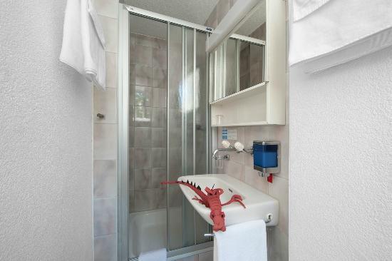 Hotel Rothaus: Dusche