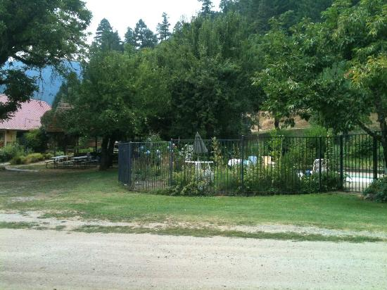 Marble Mountain Ranch - Family Guest Ranch: Pool Area and Grounds