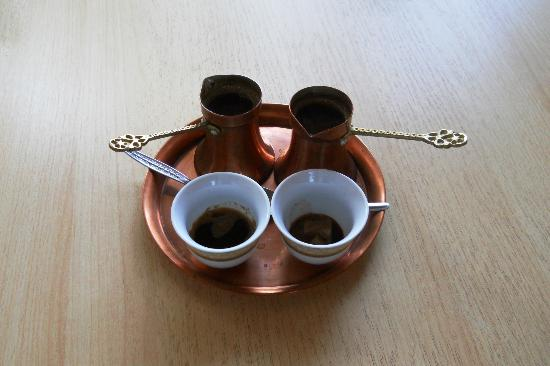 Pansion Cardak: turkish coffee provided for free