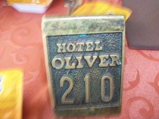 Hotel Oliver: indovinate a che stanza eravamo? :)