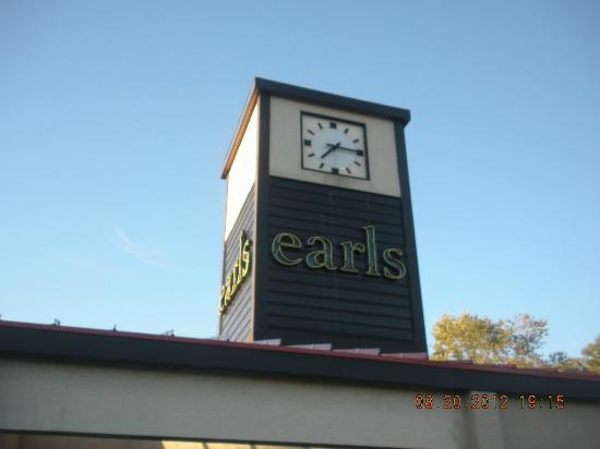 Earl's Restaurants: ext sign