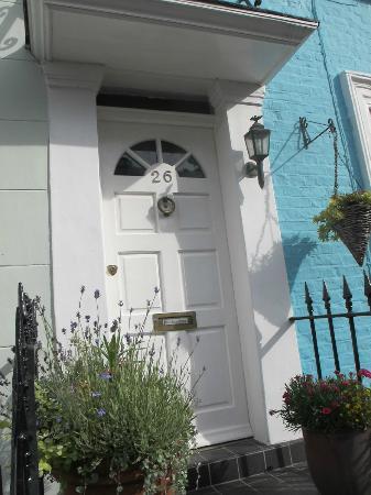 26 Hillgate Place: The Front Entrance