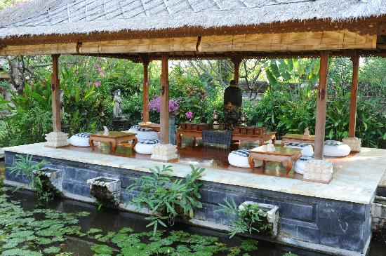 Matahari Beach Resort & Spa: Part of the Spa used for a.o. the tea-ceremony