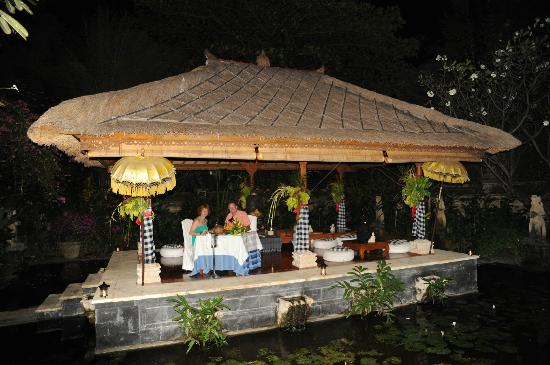 Matahari Beach Resort & Spa: Private dinner atthe Spa