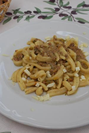 Ristorante Podere Le Vigne: Really excellent duck ragu and cheese with local pasta