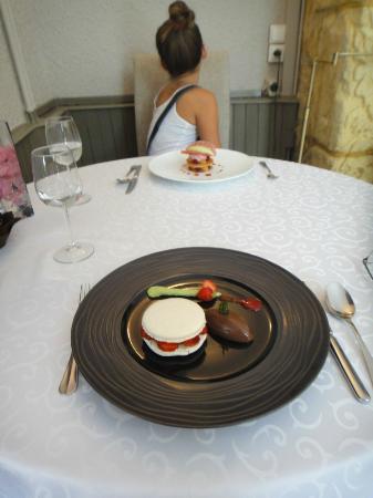 Restaurant Le Grand Bleu: Les desserts, parfait