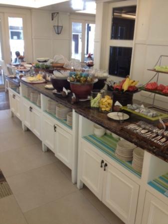 โรงแรมเรสท์ดีเทล หัวหิน: breakfast buffet