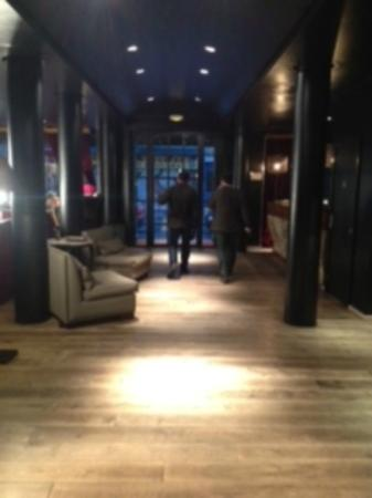 Hotel Pulitzer: lobby