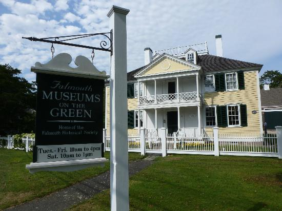 Falmouth Museums on the Green: The Main house