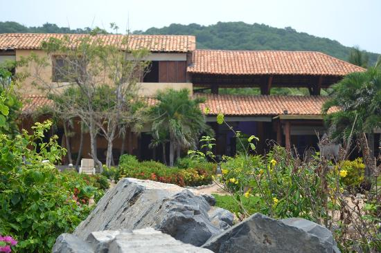 Casa Las Piedras: Desde la playa