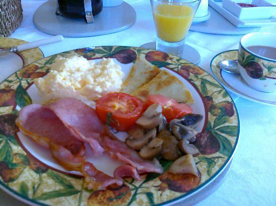 Gowanbank House Bed & Breakfast: Den väldigt goda frukosten