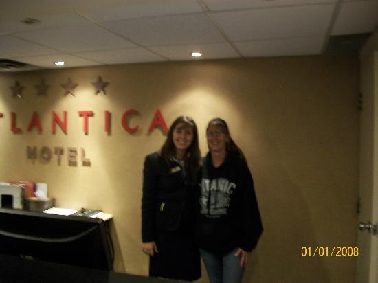 Atlantica Hotel Halifax: Myself & wonderfull friend Amiela