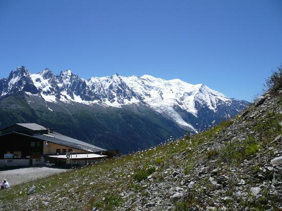 Lac Blanc: Depuis Flégère2:Aiguilles de Chamonix et Mont-Blanc