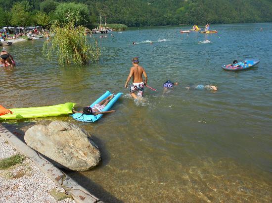 Camping Lago di Levico: lago