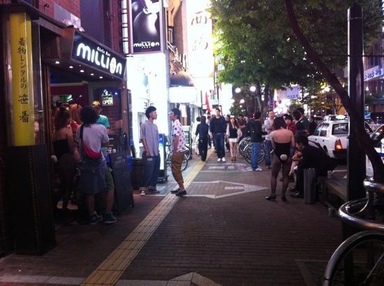 sapporo girls 札幌すすきのにある風俗店『睾丸マッサージ(ジャップカサイ)』専門店です。 we welcome international customers hokkaido sapporo red light district spot susukino sex.