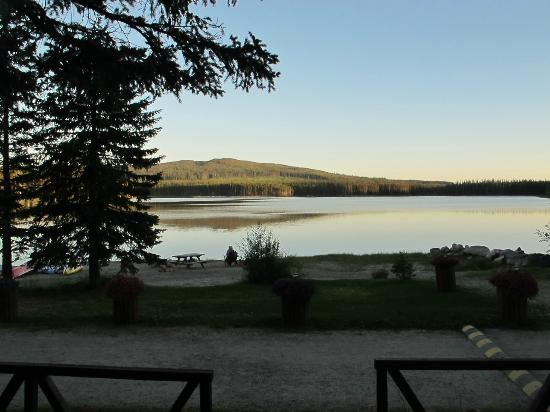 Postill Lake Lodge & Campsite: View from our front porch