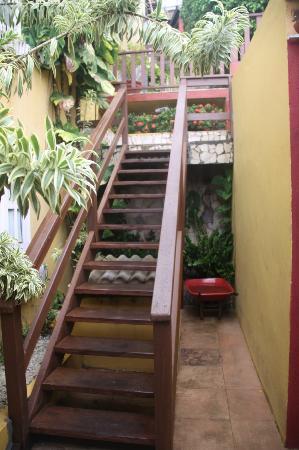 Hotel Pousada Ilha da Saudade: Acceso a la piscina